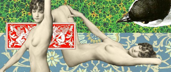 Voyeur: Self and Bird Art Print