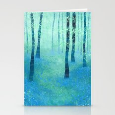 Bluebells, Challock Stationery Cards