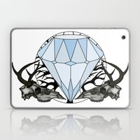 Diamond and skulls Laptop & iPad Skin