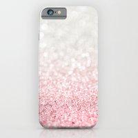 Pink Ombre Glitter iPhone 6 Slim Case