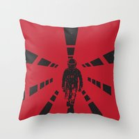 2001 Throw Pillow