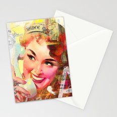 Wait a minute, I'll be right back Stationery Cards
