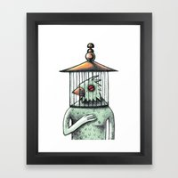 Catch Spirit Framed Art Print