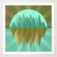 Rocks rock Art Print