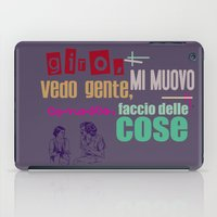 Ecce Bombo iPad Case