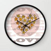 LOVE XX Wall Clock