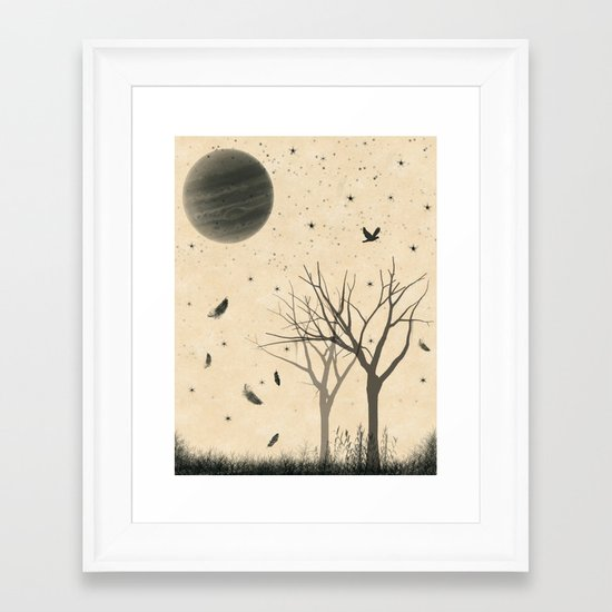 When I dream Framed Art Print
