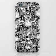 iPhone & iPod Case featuring Victorian Gothic Lace Sk… by Kristy Patterson Des…