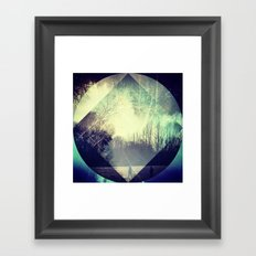 layers of a park.  Framed Art Print