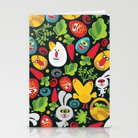 Ugly Easter. Stationery Cards