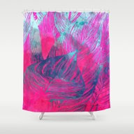 Hot N Drunk Pink #societ… Shower Curtain