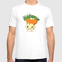GingerBread Mens Fitted Tee White SMALL