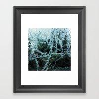 Seasonal Window Dressing Framed Art Print