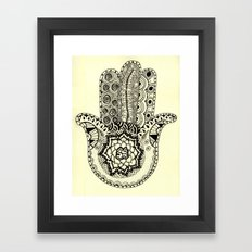 Om Hamsa Framed Art Print