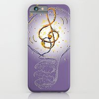 iPhone & iPod Case featuring Music, what a great idea! by Miguel Á. Núñez I.
