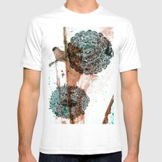 Who am I Mens Fitted Tee White SMALL