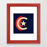 Captain Framed Art Print