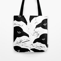 The Seven Ravens  Tote Bag