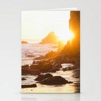 El Matador Sunset Stationery Cards