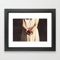 Poison Apple Framed Art Print