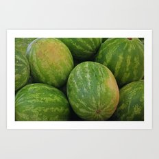 Watermelon III Art Print
