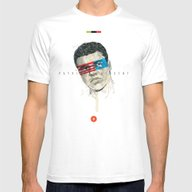 Superheroes SF Mens Fitted Tee White SMALL