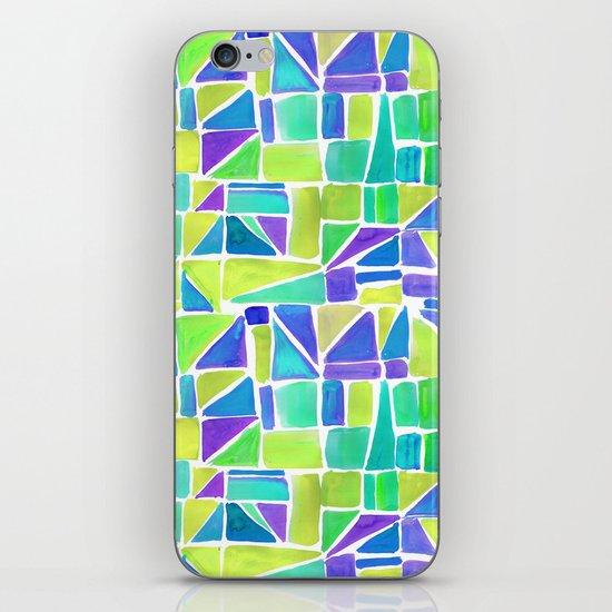 Watercolour Shapes Lemon iPhone & iPod Skin