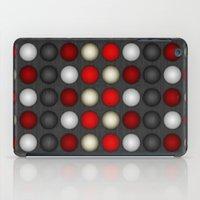 Dark Romance Polka iPad Case