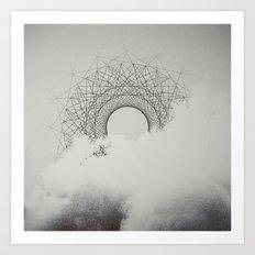 The Invisible Spectrum Art Print