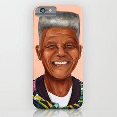 Hipstory - Nelson Mandel… iPhone 6 Slim Case