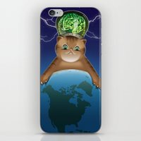 Fluffy Domination iPhone & iPod Skin