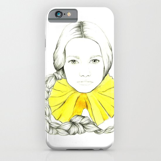 Frill Neck Lady iPhone & iPod Case