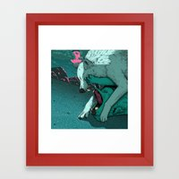 Ballad of the Wolf Framed Art Print