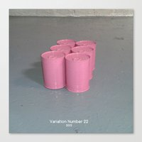 Variation Number 22 (photo) Canvas Print