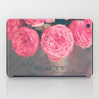 She Left Beauty Wherever… iPad Case