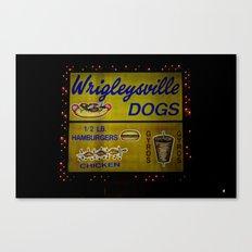 Wrigleyville Dogs Canvas Print