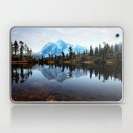 Laptop & iPad Skin featuring Mt Shuksan by Sylvia Cook Photogra…