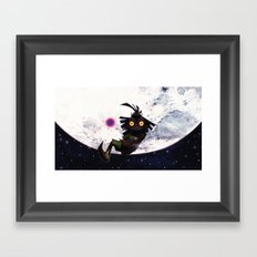 Zelda Majora's Mask : The Skull Kid Framed Art Print