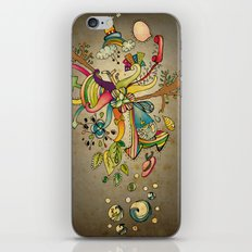 Another Strange World iPhone & iPod Skin