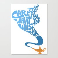 Be Careful What You Wish… Canvas Print