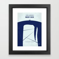 No267 My MOBY DICK Minim… Framed Art Print