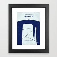 No267 My MOBY DICK Minim… Framed Art Print