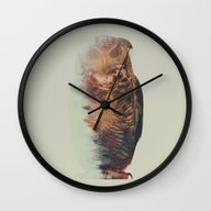 Norwegian Woods: The Owl Wall Clock