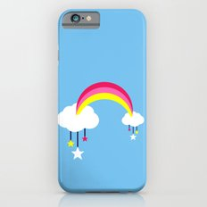 Cloudy Rainbows - Blue iPhone 6s Slim Case
