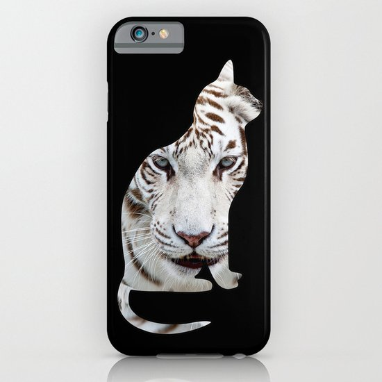 Big and small cat. iPhone & iPod Case