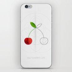 HALF (cherry) LIFE iPhone & iPod Skin