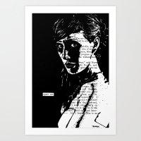 Spare Me Art Print