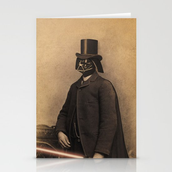 Lord Vadersworth Stationery Card