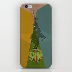 Balancing Elephant Act iPhone & iPod Skin