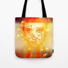 The Girl UnWound Tote Bag